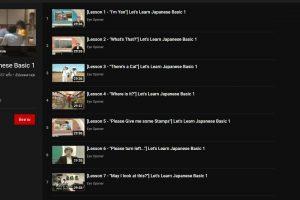 learn-japanese-basic-youtube-playlist