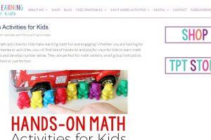 math-activity-kids